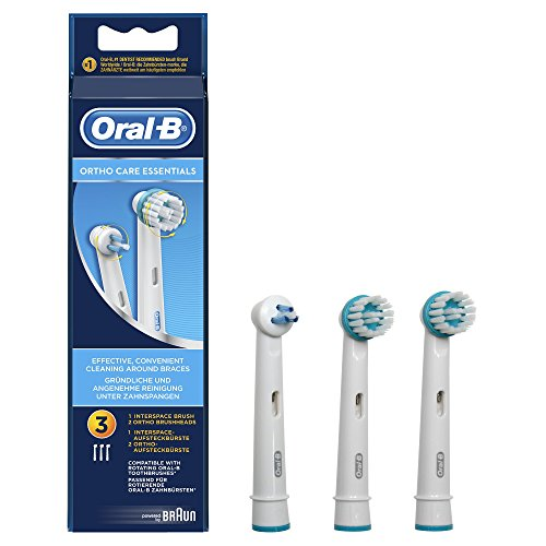 3 ראשים Ortho Care Essentials למברשת Oral-B